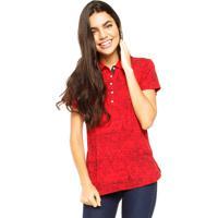Camisa Polo Tommy Hilfiger Lic City Polo Vermelha a305e2dbb8