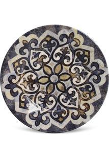 Prato Sobremesa Mônaco Tuile Cerâmica 6 Peças Porto Brasil