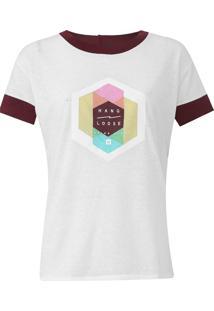 Camiseta Hang Loose Trend Sharing Off-White - Kanui