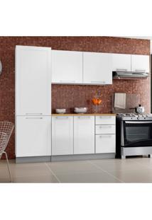 Cozinha Compacta Play 9 Pt 2 Gv Branca