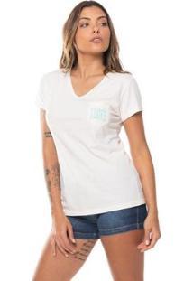 Camiseta Baby Look Love Ocean Vibes Mormaii - Feminino