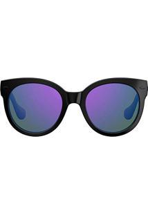 b69736e124c99 Óculos De Sol Havaianas Noronha M 233670 Qt2-Te 52 Preto Roxo