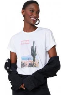 Camiseta Amaro Cactus Print Feminina - Feminino