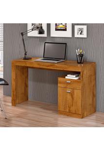 Mesa Para Computador Com 1 Porta E 1 Gaveta Melissa Fosco – Permóbili - Mel