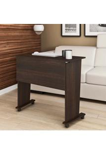 Mesa Para Computador Com Rodízio Me4117 - Tecno Mobili - Tabaco