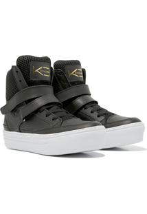 Sneaker K3 Fitness Smooth Preto