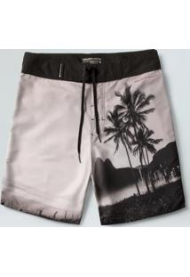 Bermuda Surf Masc Rio With Love-Offwhite/ Preto - 38