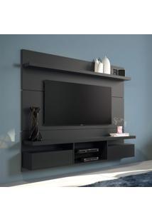 Painel Para Tv 55 Polegadas Livin Preto 181 Cm