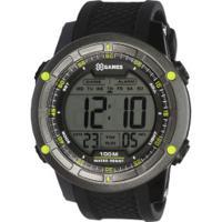 28292517970 Centauro. Relógio Digital X Games Xmppd421 - Masculino - Preto Verde