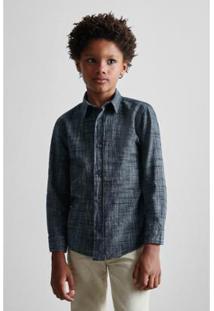 e1f379e478 Camisa Masculina Infantil Mini Pf Ml Ft Brasa Reserva Mini - Masculino-Preto