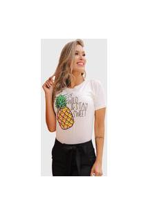 Camiseta Abacaxi D Bell