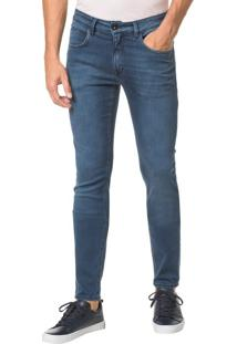 Calça Jeans Five Pockets Super Skinny - Marinho - 44