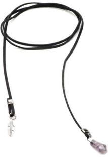 Colar Key Design Antro Black Choker Feminino - Feminino-Preto