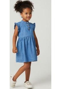 Vestido Jeans Infantil Toddler
