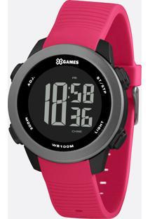 Relógio Feminino Digital Xgames Xfppd080 Pxrxx, Pto