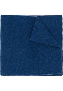 Dell'Oglio Cachecol Bicolor De Cashmere - Azul