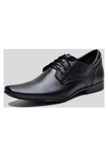 Sapato Social Ded Calçados Com Cadarço Preto