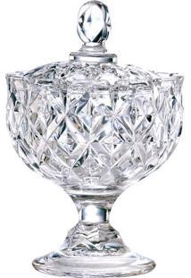 Bomboniere Com Pé- Cristal- 12Xø14,2Cm- Full Fitfull Fit
