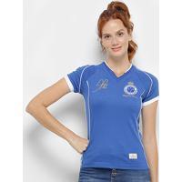 2767503b28 Camiseta Cruzeiro Retrô Mania 2003 Alex Tríplice Coroa Feminina - Feminino