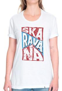 Bloco Skaravana - 2020 - Camiseta Basicona Unissex