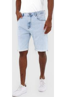 Bermuda Jeans John John Reta Azul