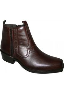 Bota Ferracini New Country - Masculino-Marrom
