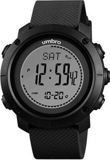 Relógio Umbro Digital 121 - Unissex-Preto+Cinza