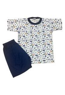 Pijama Infantil Malha Fria Kidsline Adventure