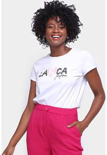 Camiseta Lança Perfume Coração Feminina - Feminino