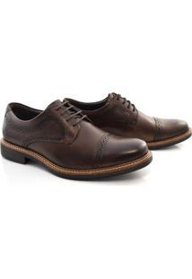 Sapato Oxford De Couro Masculino Democrata
