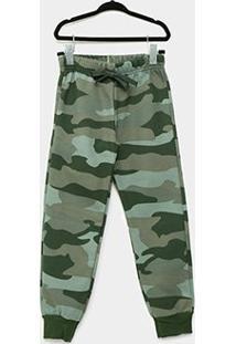 Calça Infantil Brandili Jogger - Masculino-Verde