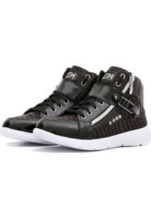 Sneaker K3 Fitness Up Preto