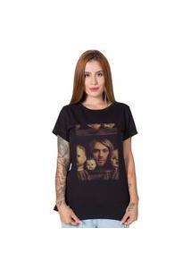 Camiseta Stoned Kurt Kobain Preta