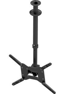 Suporte De Teto Para Tv Avatron Slf-2040Ttg-B 32 À 60 Pol Preto