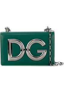Dolce & Gabbana Bolsa Tiracolo 'Dg Girls' - Verde