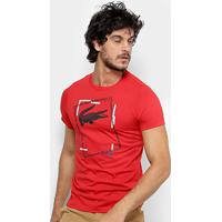 Camiseta Casual Lacoste masculina   Shoes4you 81442574cb