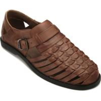 172ab06e56 Sandália Conforto Couro masculina | Shoes4you