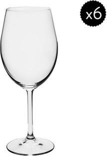 Jogo De Taças Para Vinho Branco Gastro- Cristal- 6Pçdynasty