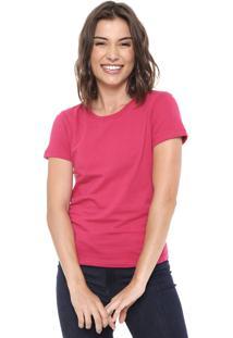 Camiseta Hering Básica Rosa