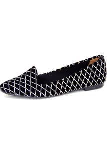 Slipper Infinity Shoes Balão Preto - Kanui