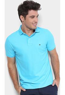 Camisa Polo Tommy Hilfiger Performance Slim Masculina - Masculino 4157cf49a3594