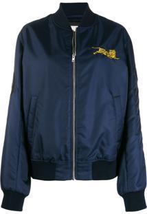Kenzo Jumper Tiger Bomber Jacket - Azul