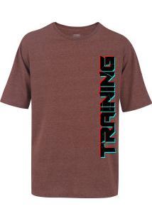 Camiseta Oxer Básica - Masculina - Vinho - Training Black - Vinho 55531f035817c