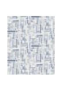 Papel De Parede Adesivo Decoração 53X10Cm Azul -W22549
