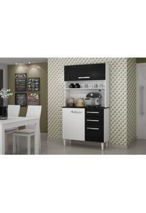 Cozinha Roma Kit Sallêto Móveis