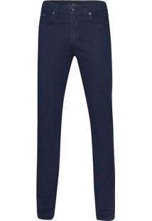 Calça De Sarja Azul Marinho