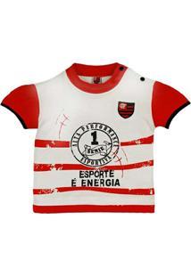 Baby Look Esporte É Energia Meia Malha Menina Flamengo Reve Dor - M -  Feminino- 5859ef7a4d5a7