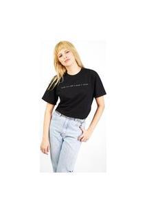 Camiseta Kissa By Valley Feminina Preta