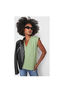 Camiseta Colcci Musclee Tee Verde