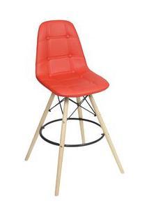 Or Design Banqueta Boton㪠Vermelha 106X56X56Cm